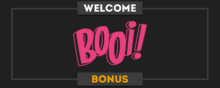 Booi Casino exclusive bonus code