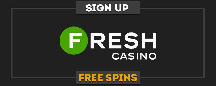 Fresh Casino promo code