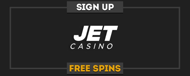 Jet Casino promo code