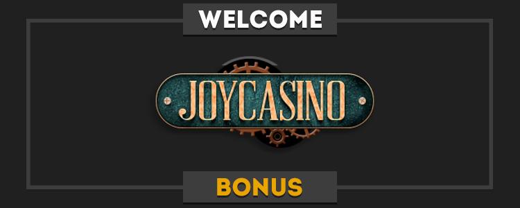 Joycasino bonus code for registration