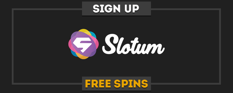 Slotum Casino sign up free spins
