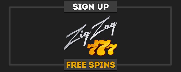 ZigZag777 Casino promo code