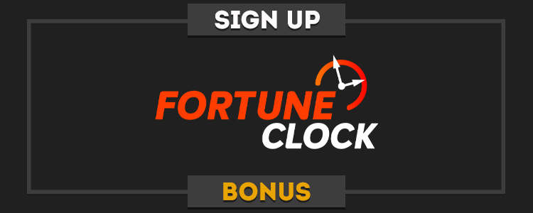 FortuneClock real money no deposit bonus