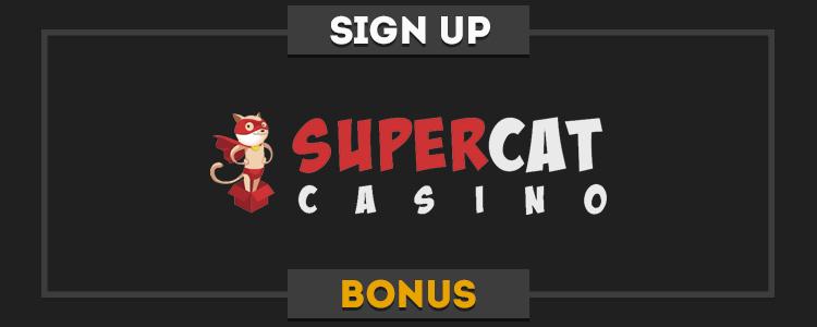 SuperCat real money no deposit bonus