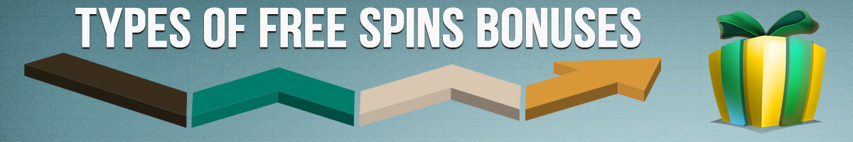 TYPES OF FREE SPINS BONUSES
