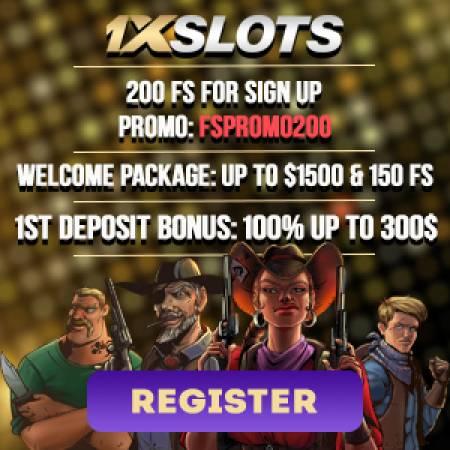 1xSlots Bonus