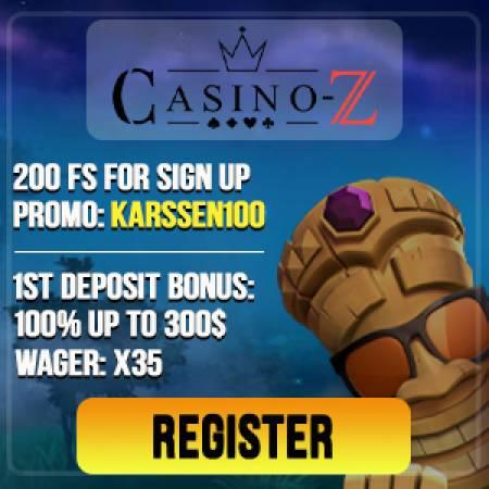 CasinoZ Bonus